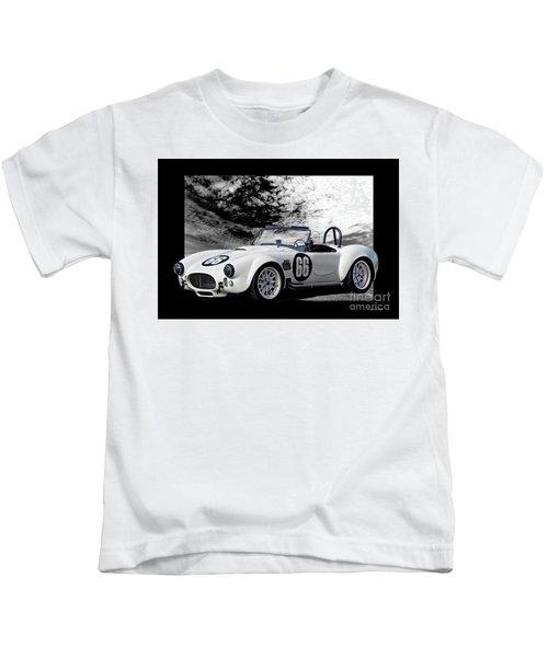 1966 Shelby Cobra 427 'sixty-six'' Kids T-Shirt