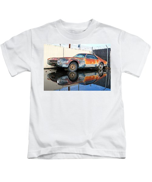 1966 Toronado In Decay  Kids T-Shirt