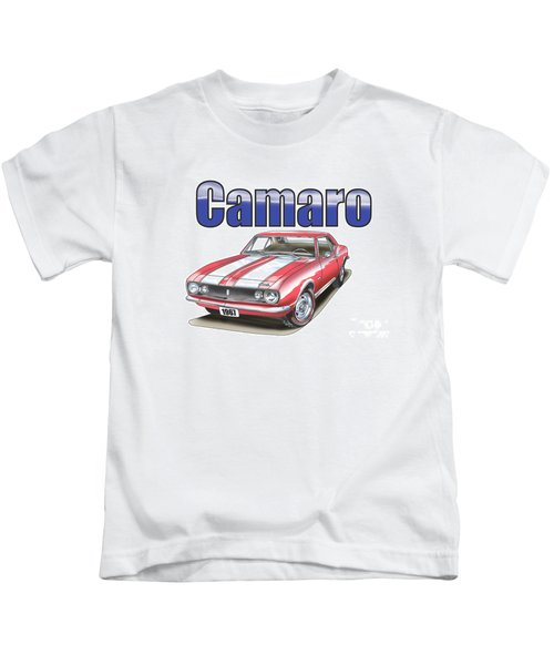1967 Camaro Kids T-Shirt