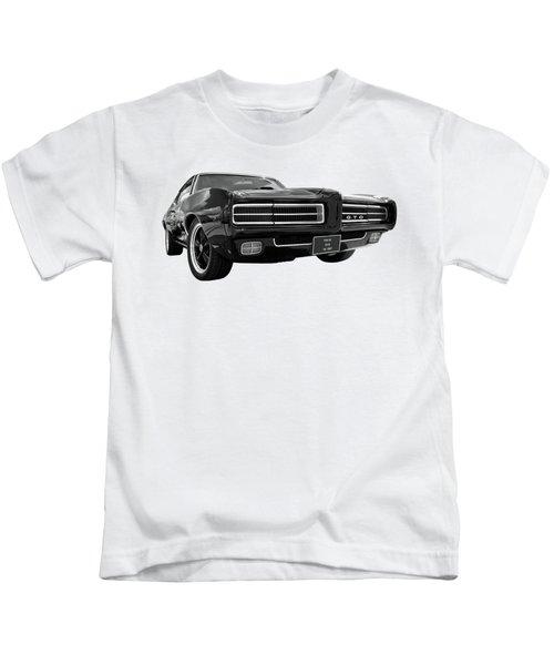 1969 Pontiac Gto The Goat Kids T-Shirt by Gill Billington