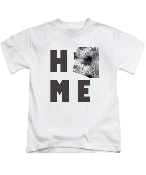 Arizona State Map  Kids T-Shirt