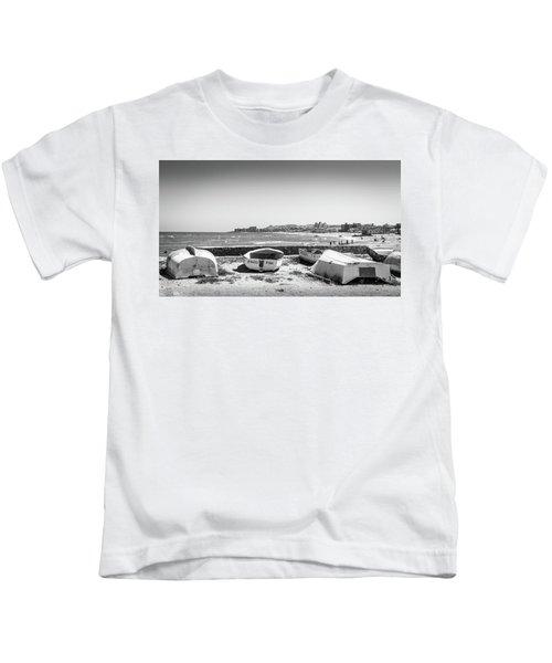 Boats. Kids T-Shirt