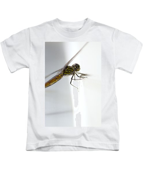 Close Up Shoot Of A Anisoptera Dragonfly Kids T-Shirt