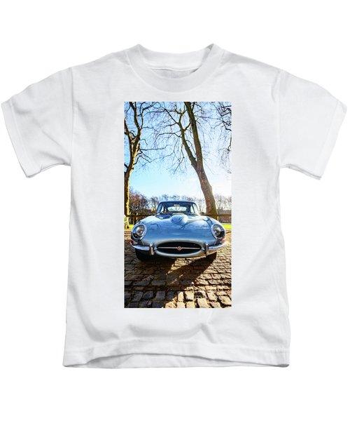 E Type Jaguar Kids T-Shirt