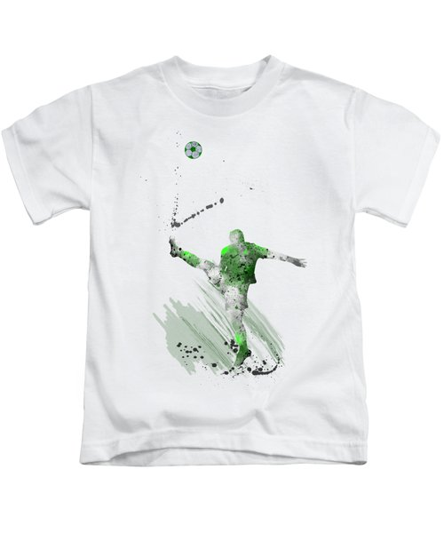 Football Player Kids T-Shirt