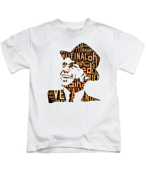 Frank Sinatra I Did It My Way Kids T-Shirt