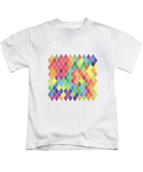Geometric Background Kids T-Shirt
