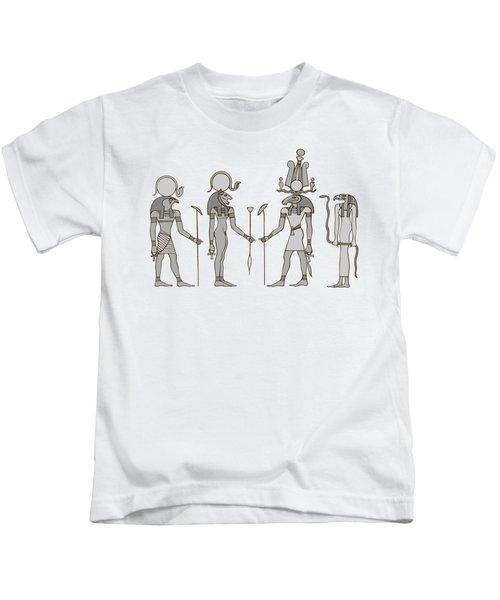Gods Of Ancient Egypt Kids T-Shirt