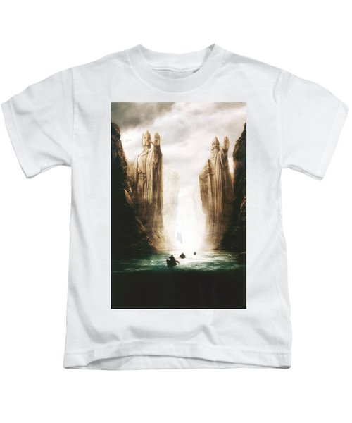 Lord Of The Rings The Fellowship Of The Ring 2001  Kids T-Shirt
