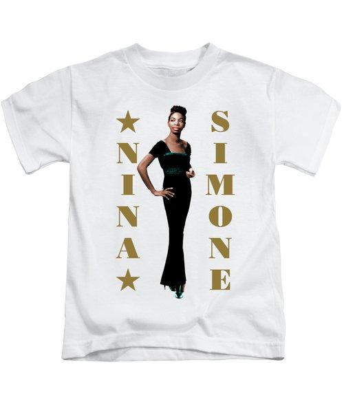 Nina Simone Kids T-Shirt