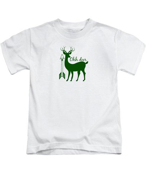 Ohh Deer Kids T-Shirt