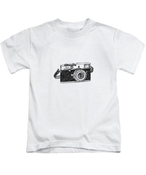 Rangefinder Camera Kids T-Shirt