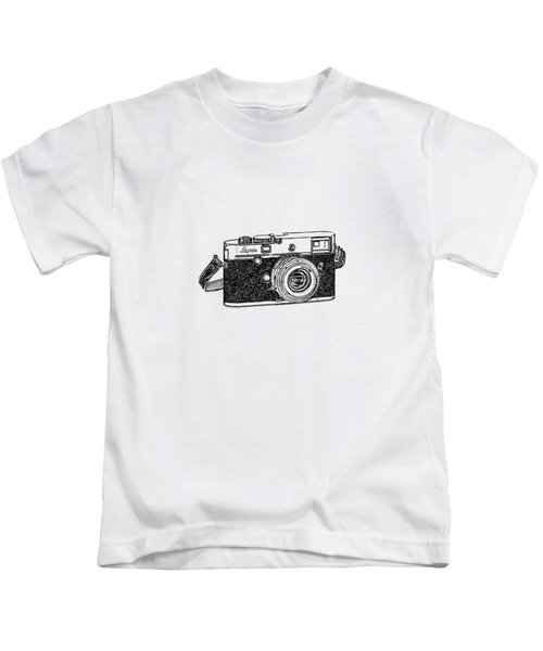 Rangefinder Camera Kids T-Shirt
