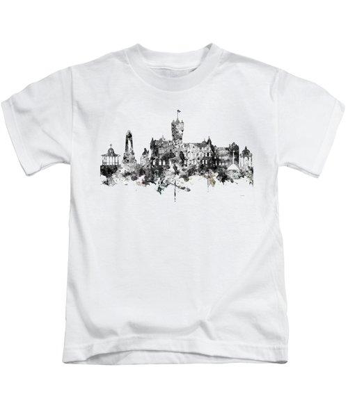 Rutherglen Scotland Skyline Kids T-Shirt