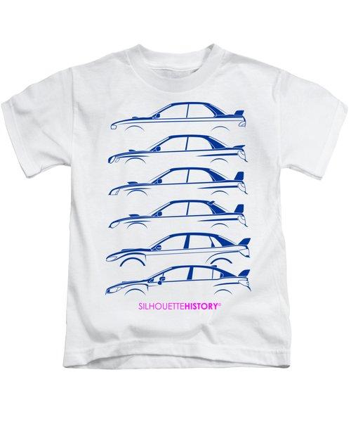 Six Stars Silhouettehistory Kids T-Shirt