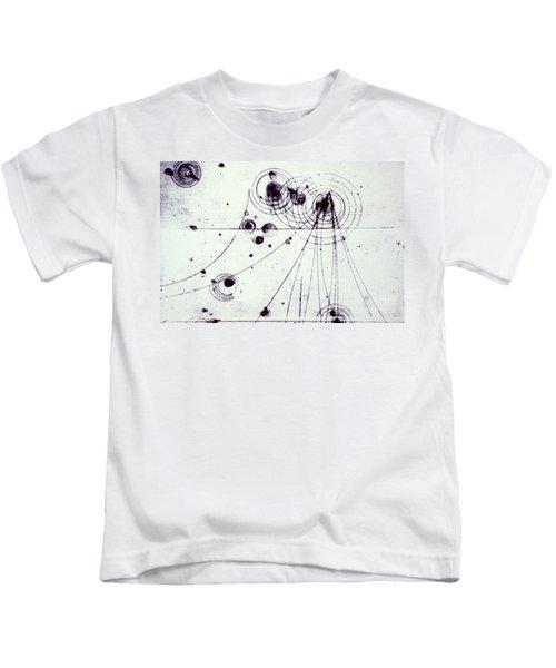 Slac Bubble Chamber Kids T-Shirt