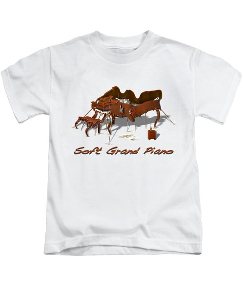 Soft Grand Piano  Kids T-Shirt