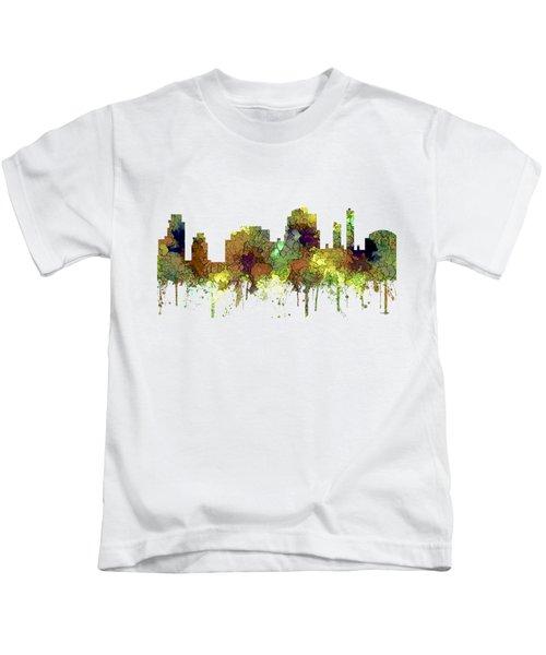 Tempe Arizona Skyline Kids T-Shirt