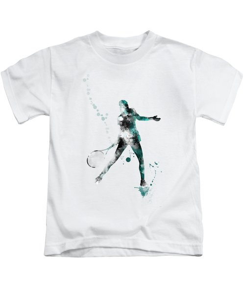 Tennis Player Kids T-Shirt