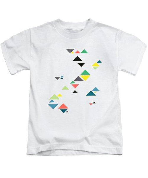 Triangles Kids T-Shirt