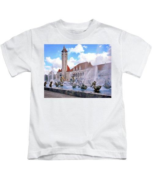 Union Station - St Louis Kids T-Shirt