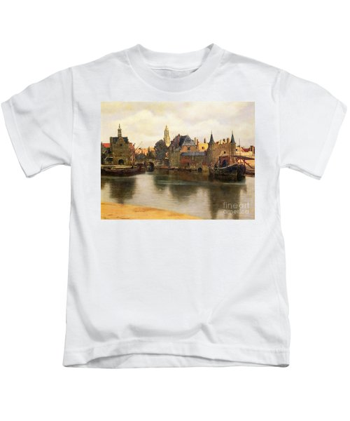 View Of Delft Kids T-Shirt