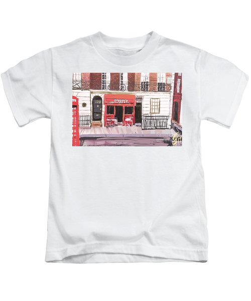 221 B Baker Street Kids T-Shirt