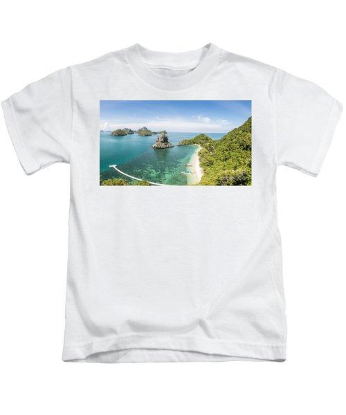 Ang Thong Marine National Park Kids T-Shirt