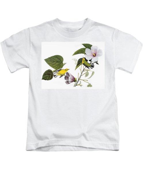 Audubon Warbler Kids T-Shirt