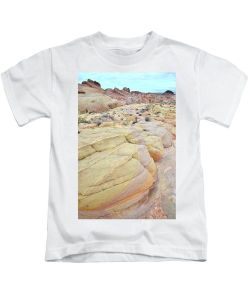 Colorful Boulders In Valley Of Fire Kids T-Shirt