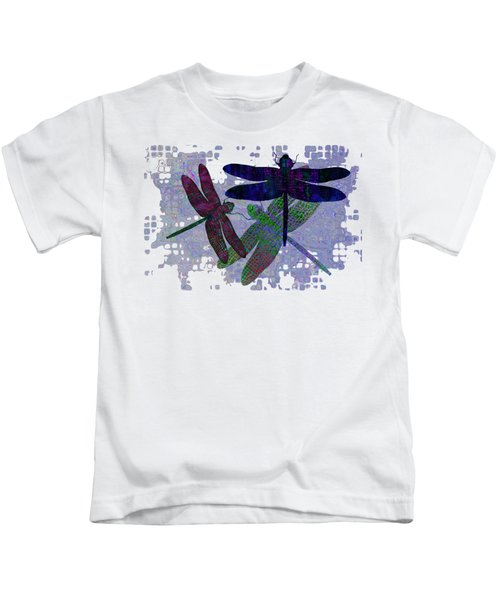 3 Dragonfly Kids T-Shirt