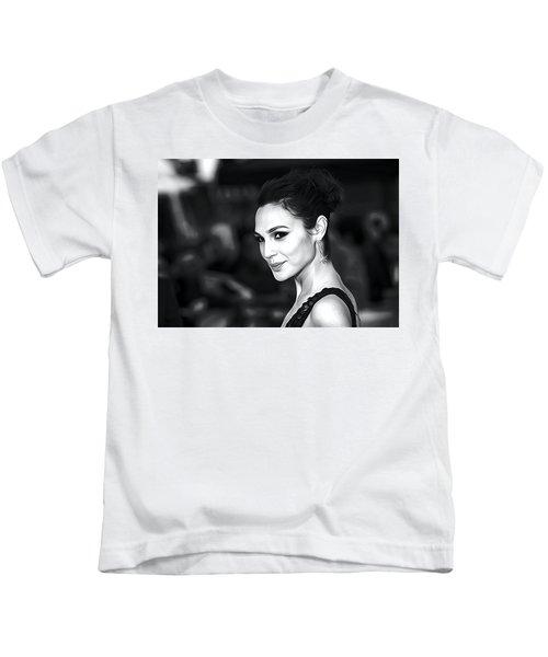 Gal Gadot Print Kids T-Shirt