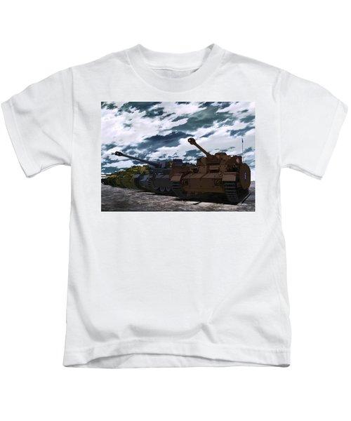 Girls Und Panzer Kids T-Shirt