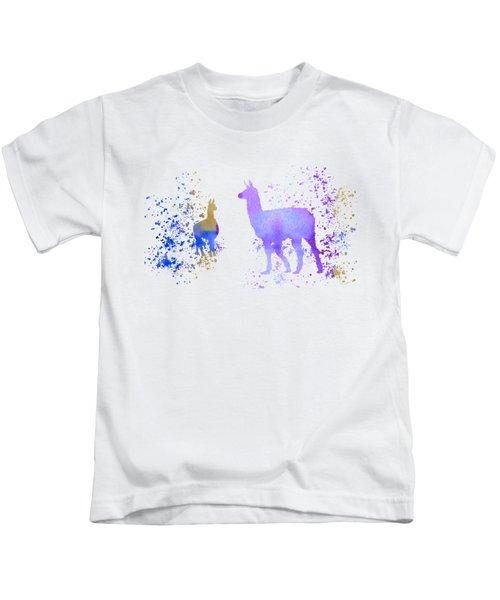 Llamas Kids T-Shirt