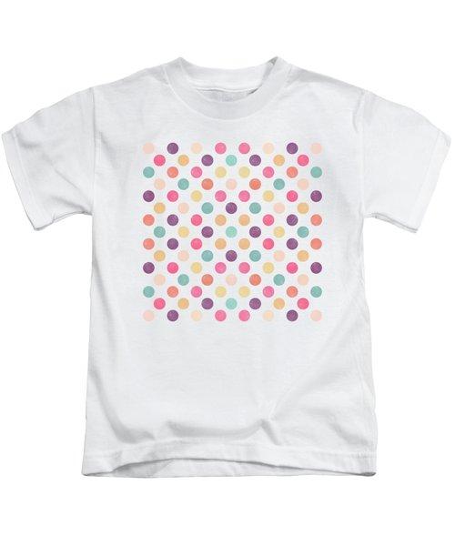Lovely Polka Dots  Kids T-Shirt