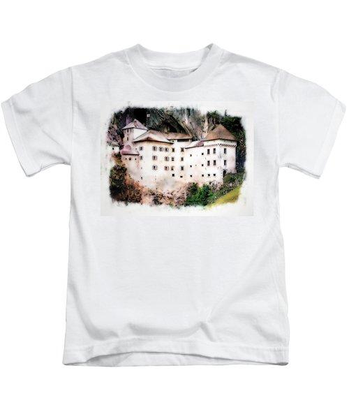 Predjama Castle, Predjama Slovenia Kids T-Shirt