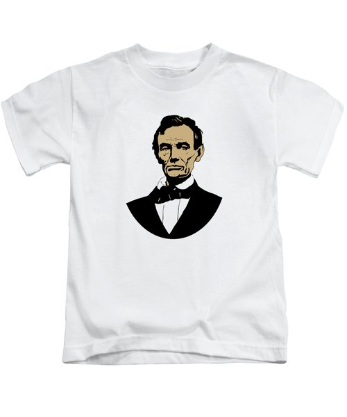 President Lincoln Kids T-Shirt by War Is Hell Store