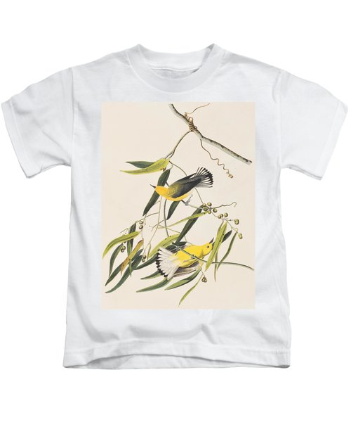 Prothonotary Warbler Kids T-Shirt