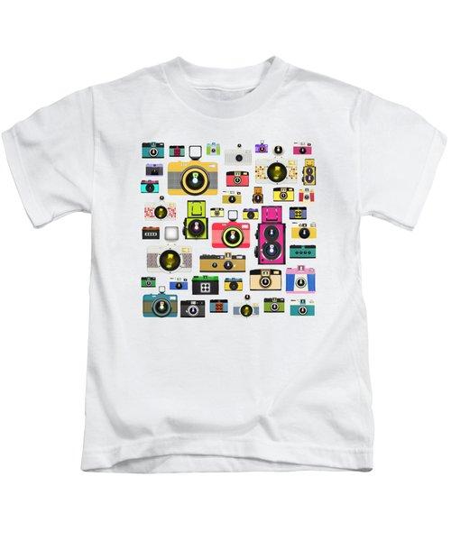 Retro Camera Kids T-Shirt