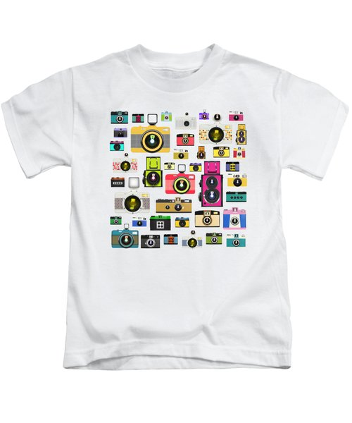 Retro Camera Kids T-Shirt