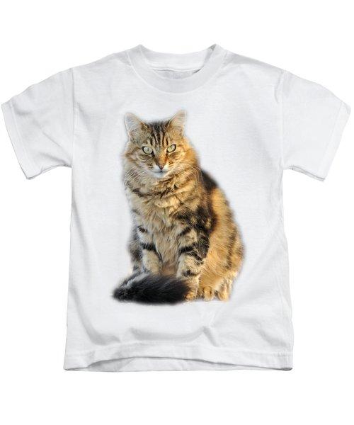 Sitting Cat Kids T-Shirt