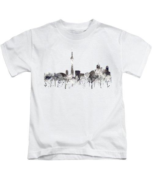 Toronto Ont.skyline Kids T-Shirt