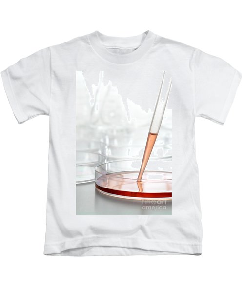 Laboratory Experiment In Science Research Lab Kids T-Shirt