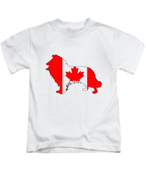 Border Collie Kids T-Shirt