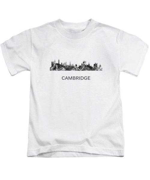 Cambridge England Skyline Kids T-Shirt