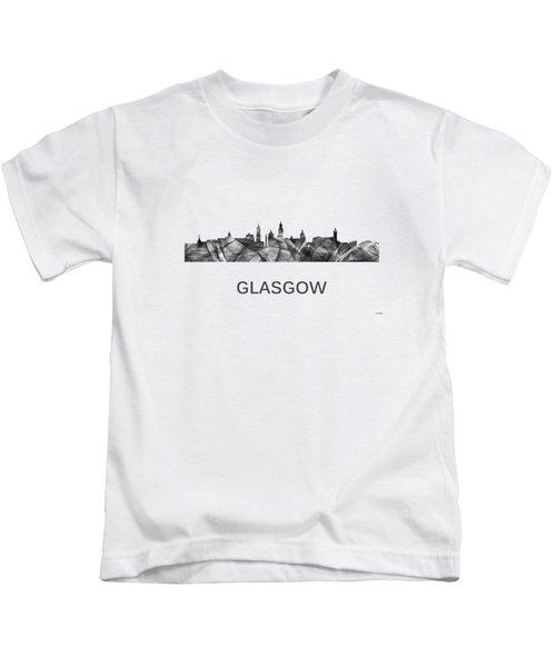 Glasgow Scotland Skyline Kids T-Shirt