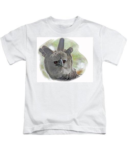 Harpy Eagle Kids T-Shirt