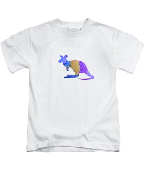 Kangaroo Kids T-Shirt by Mordax Furittus