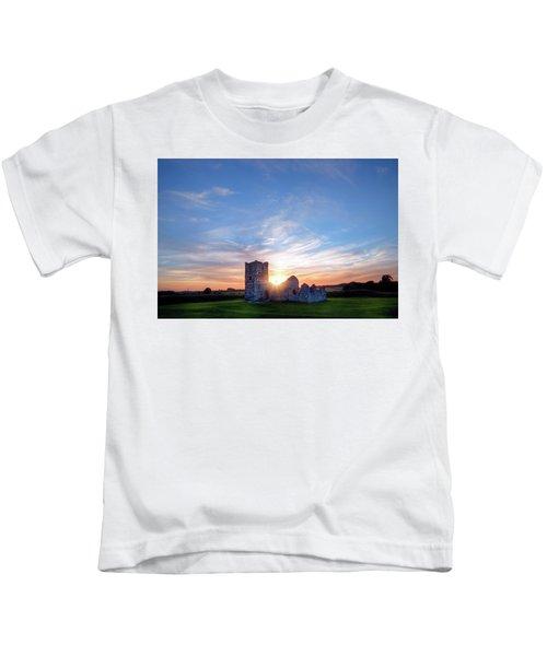 Knowlton Church - England Kids T-Shirt