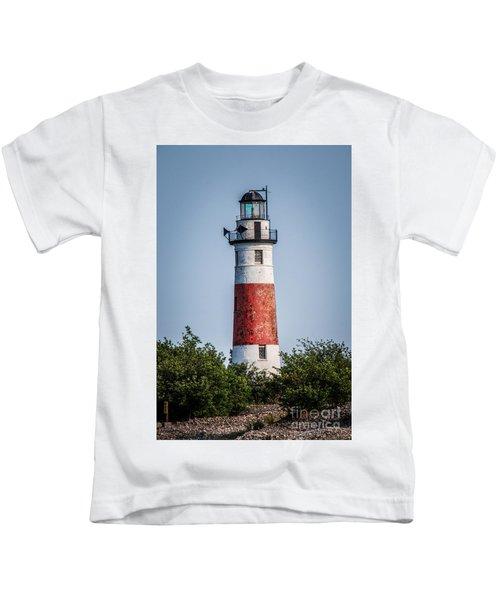Middle Island Lighthouse Kids T-Shirt